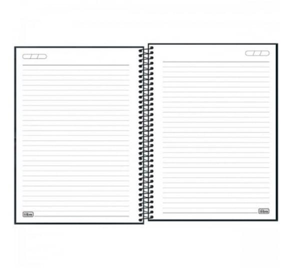 caderno espiral capa dura universitario 1 materia stranger things 80 folhas 294136 2