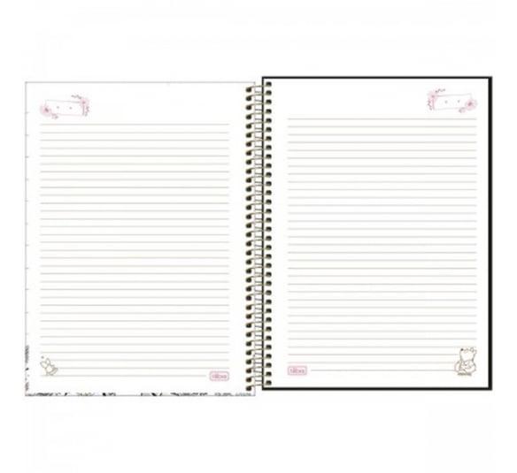 caderno espiral capa dura universitario 10 materias pooh 160 folhas 308293 1