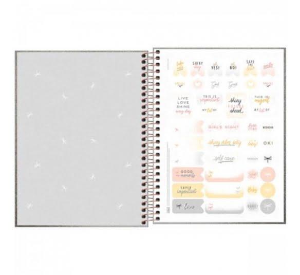 caderno executivo colegial espiral capa dura cambridge shine 80 folhas 311430 1