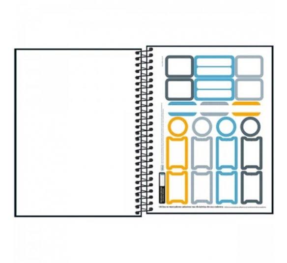 caderno executivo espiral capa dura colegial cambridge 90 gramas 80 folhas 304506 1