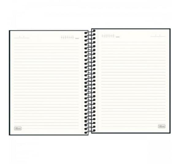 caderno executivo espiral capa dura colegial cambridge 90 gramas 80 folhas 304506 2