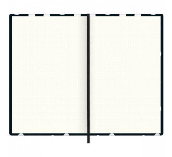 caderno pontilhado costurado capa dura fitto g west village 90 gramas 80 folhas 290106 2