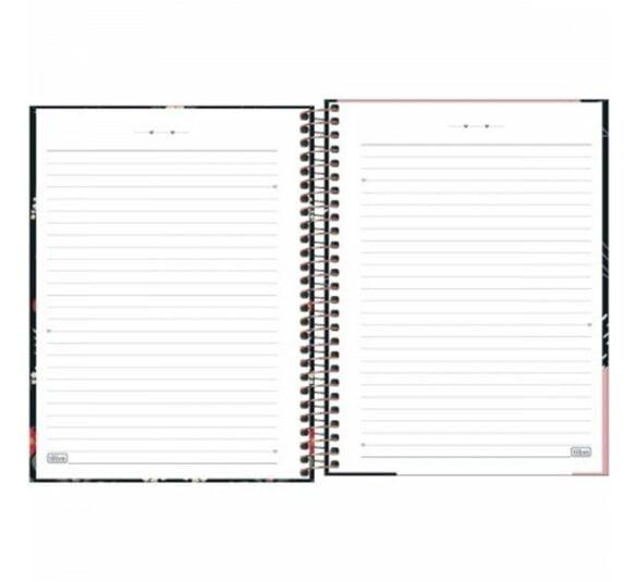 caderno espiral capa dura colegial 10 materias capricho 160 folhas 230421 3