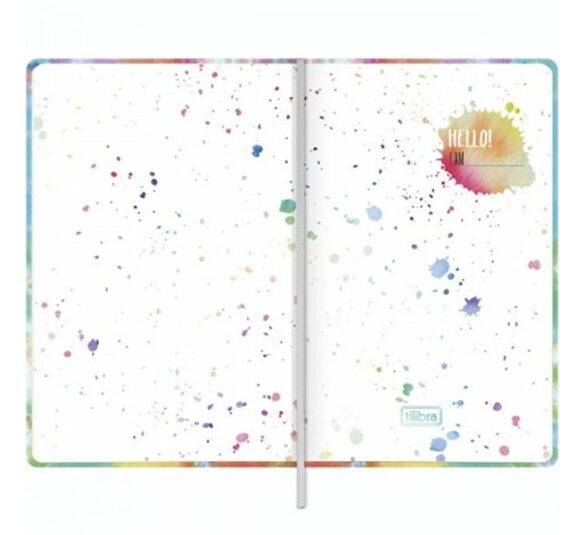 caderno pontilhado costurado capa dura fitto g good vibes 90 gramas 80 folhas 323845 1