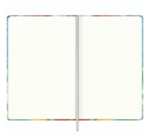 caderno pontilhado costurado capa dura fitto g good vibes 90 gramas 80 folhas 323845 2
