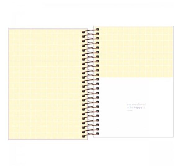 agenda espiral diaria 14 x 20 cm happy 2021 314234 1