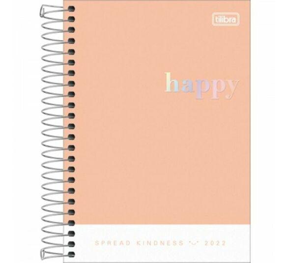 agenda happy laranja