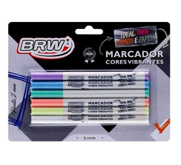 ca8012 marcador cores vibrantes