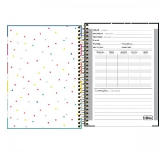 caderno espiral capa dura 14 be nice 80 folhas 316814 1
