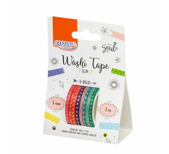washi tape slim brw