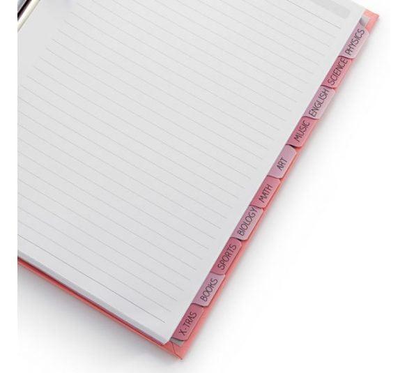 caderno pink stone otima 5