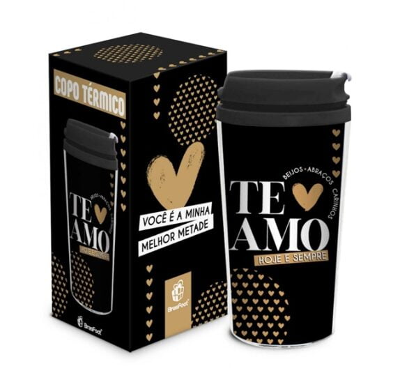 ptl 280 57 thermal cup mini te amo hoje e sempre 3d
