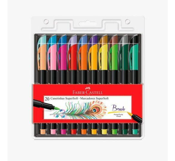 brush faber 20 cores