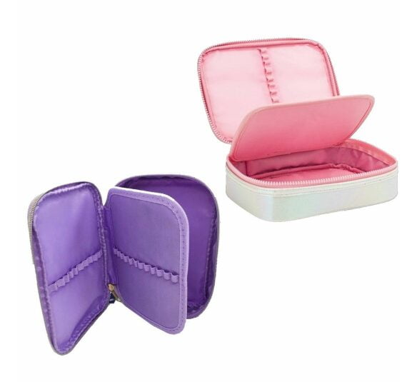 estojo box academie shine rosa 312231 2