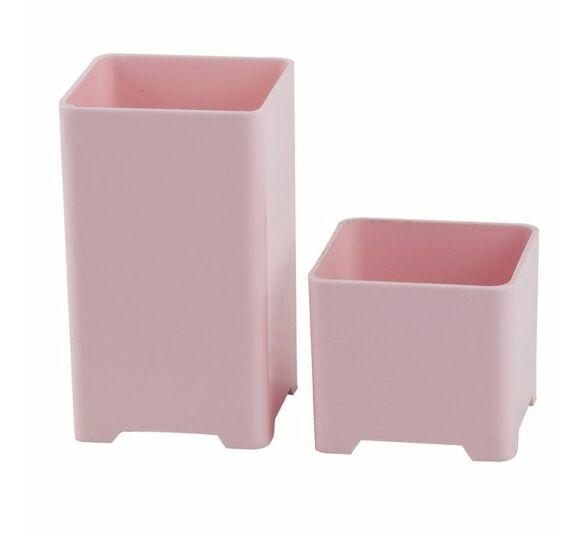 kit porta lapis waleu rosa